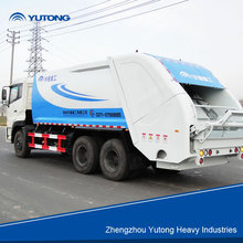 newly environmental waste garbage compactor truck