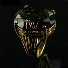 Fashion emerald diamond ring