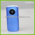 Cor lisa matéria-prima sem fio do telefone móvel carregador de energia bancos alta- final