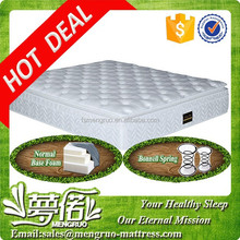 Hot sale pillow top bonnell spring used hotel mattresses