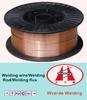 Carbon soldering lead wire roll / welding wire er70s-6