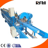Delta PLC High Quality Metal Roofing Gutter Roll Forming Machine