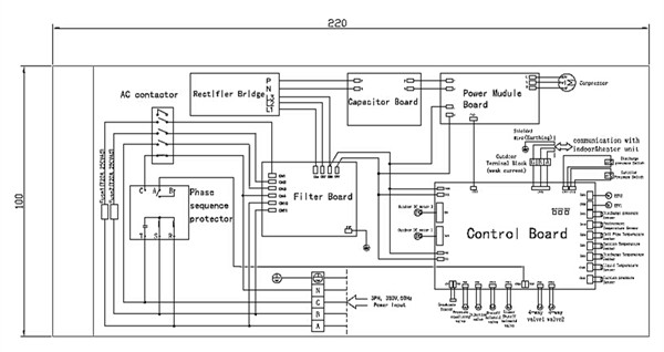 wiring diagram ac split sharp split ac service mini split system rh banyan palace com Motor
