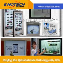 retail counterTransparent LCD display interaction