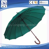 Cheap wholesale 16 steel ribs made in China gift golf outdoor umbrella