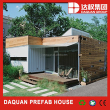 Daquan luxury modern prefabricated 20ft shipping container houses for club