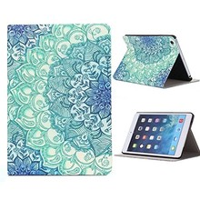 Floral Pattern Flip Stand Leather Case Cover For iPad Mini 1 2 3 Retina