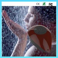 Waterproof pool bluetooth speaker with LED flash light with FM radio bluetooth speaker in waterproof grade IPX7