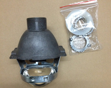 DLAND SQUARE Q5 HID BI-XENON PROJECTOR LENS , H4 EASY INSTALL, 3.0 INCH, USE D2S D2H HID XENON LAMP BULB