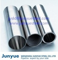 Seamless Stainles steel TP304 DIN17458 solid solution of acid white tubes/pipes