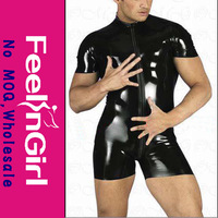 New Style Sexy Leather Bodysuit For Men