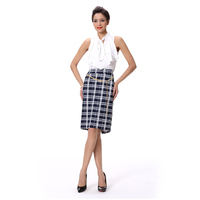Office ladies dress summer short skirts woman bodycon fashion print skirt