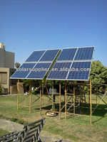 Complete portable solar power system with battery and brackets 500 to 50000W for all family and home solar power system 2