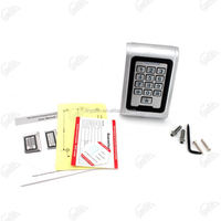 Glass door Stainless steel keypad with LED door access
