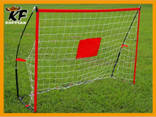 China 6 feet easy set up indoor foldable practice football soccer goal with net