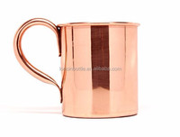 Solid Pure Hammered Copper Water Moscow Mule Pitcher Jug Mug Cup, copper shot glass ,12oz Handmade Pure Copper Moscow Mule Mug