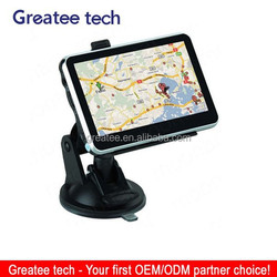 4.3 inch car gps navigation high quality cheapest gps GS043
