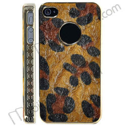 Faux Fur Hard Cover Case Skin for iPhone 4/iPhone 4S