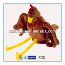 Cheap love birds stuffed plush bird toys hand puppet for sale