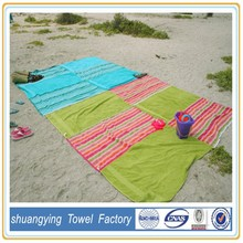 China Factory Custom 100% Cotton Promotional Velour Reactive Printed Beach Towels