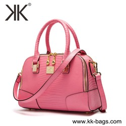 ostrich leather women handbag 100% genuine leather ladies totes branded handbag