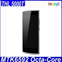 "New Original THL 5000T MTK6592M 1.4GHz Octa Core 5"" 1280*720p 1G RAM 8G ROM 13.0MP Rear Camera 3G Mobile phone"