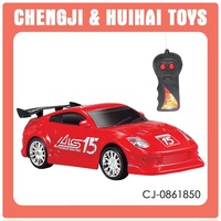Promotion toy plastic 1:24 4wd rc drift car with light