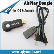 Ezcast M2 OTA Miracast TV Dongle for IOS/Android/Windows DLNA Miracast Airpaly Mirror OP Linux OS Android WiFi Display