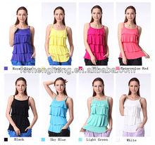 wholesale cotton/spandex fabric custom women tank top
