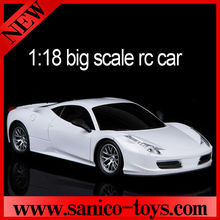 2014 new products 1:18 4channel remote control car ,rc racing car ,rc model car made in China
