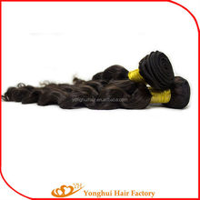 Cheap factory price wholesale top virign brazilian hair extension Yonghui hair