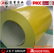 secondary color coated galvanized steel coil quality from shandong