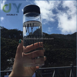 Wholesale customized black sport water bottle/Fruit Juice Infuser sport Water Bottle