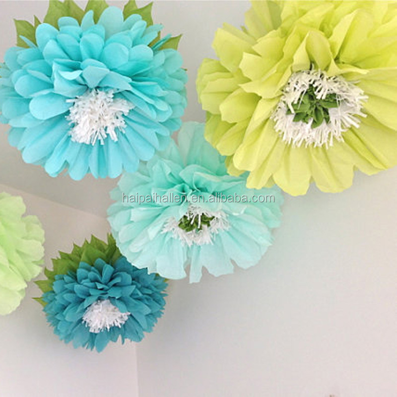 White Tissue Paper Dove Garland Wedding Engagement Christmas Party