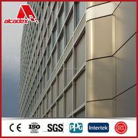 fasade decorative panels, aluminum composite panel
