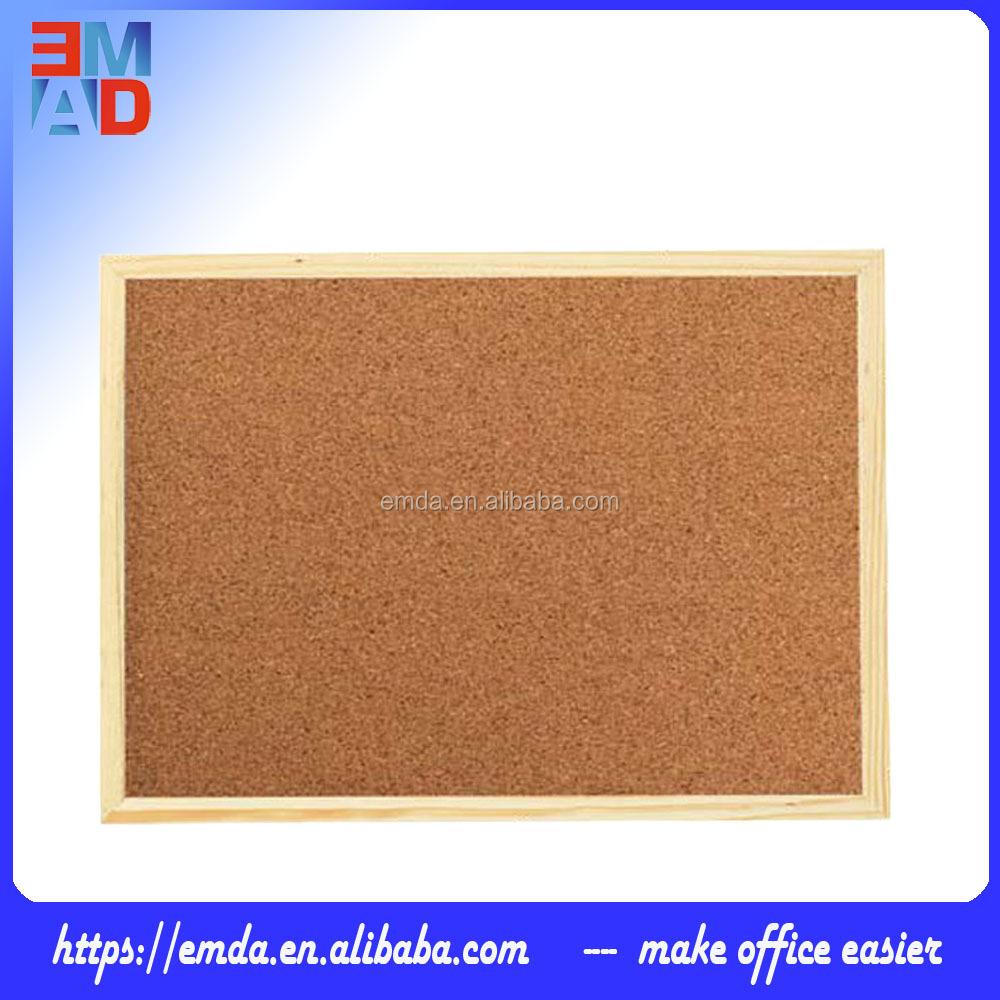 30x40 см стандартный размер бюллетень пробковая с деревянной рамкой