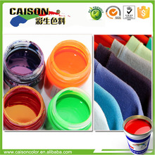 Great durability color emulsion for paint on fabric energy saving dyeing