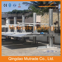 Hydro-park simple lifting mechanical intelligent parking assist system