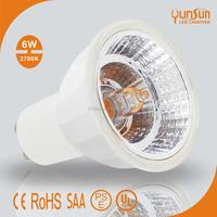 Halogen designed 6W COB spot light GU10 LED Spotlight