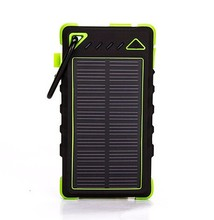 solar panel charger 8000 mah for mobile phone solar charger manufacturer