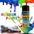 Popular 450ml msds multi- color de pulverización de pintura de caucho para el coche