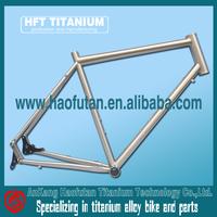 2017 HFT titanium frame 190 head tube