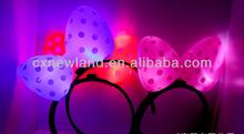 concert light custom ox horn glow in the dark halloween costumes