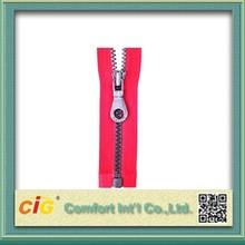 Waterproof Fashionable Large Plastic Zipper