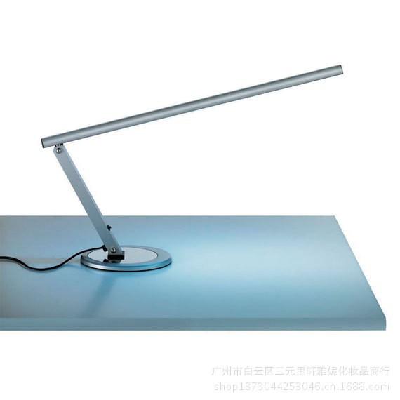 Новые функции! профессиональные Серебряного цвета профессиональная лампа для маникюра таблица/настольная лампа для маникюра/маникюр таблица лампа #72 см