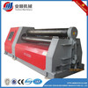 hydraulic plate roll machine with 4 rollers W12 series