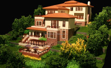 Luxury modern villa/ prefab house/prefabricated /modular homes