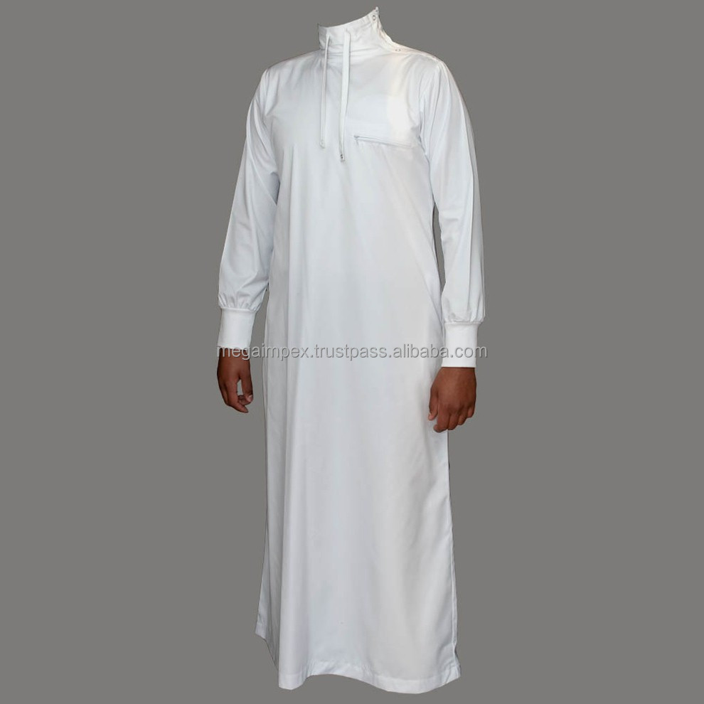 Men Thobes Men Abayas Mens Daffah Daffah Thobe Muslim Clothing Qatar Style Robes Mi 2002