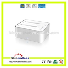 New Product USB 2.0/USB3.0 HDD 2.5/3.5 Double SATA HDD Docking Station