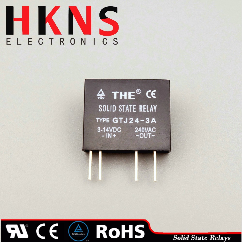 Mini Solid State Relay Ssr Dc To Ac 3a Pcb Type Crydom Ul Tuv Description